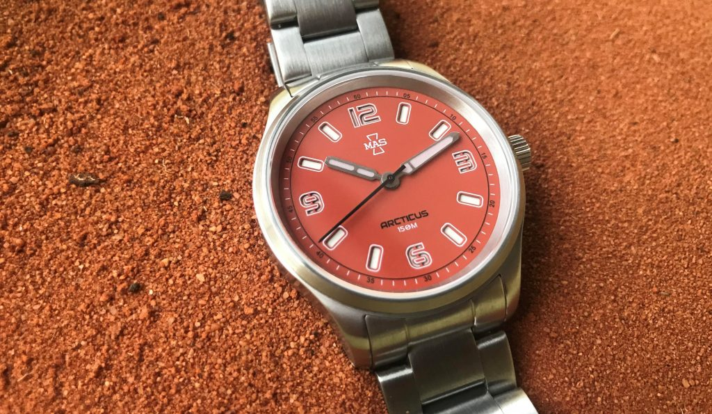 mas watches microbrand